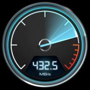 apple speed test drive black-magic