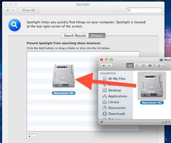 reset spotlight mac
